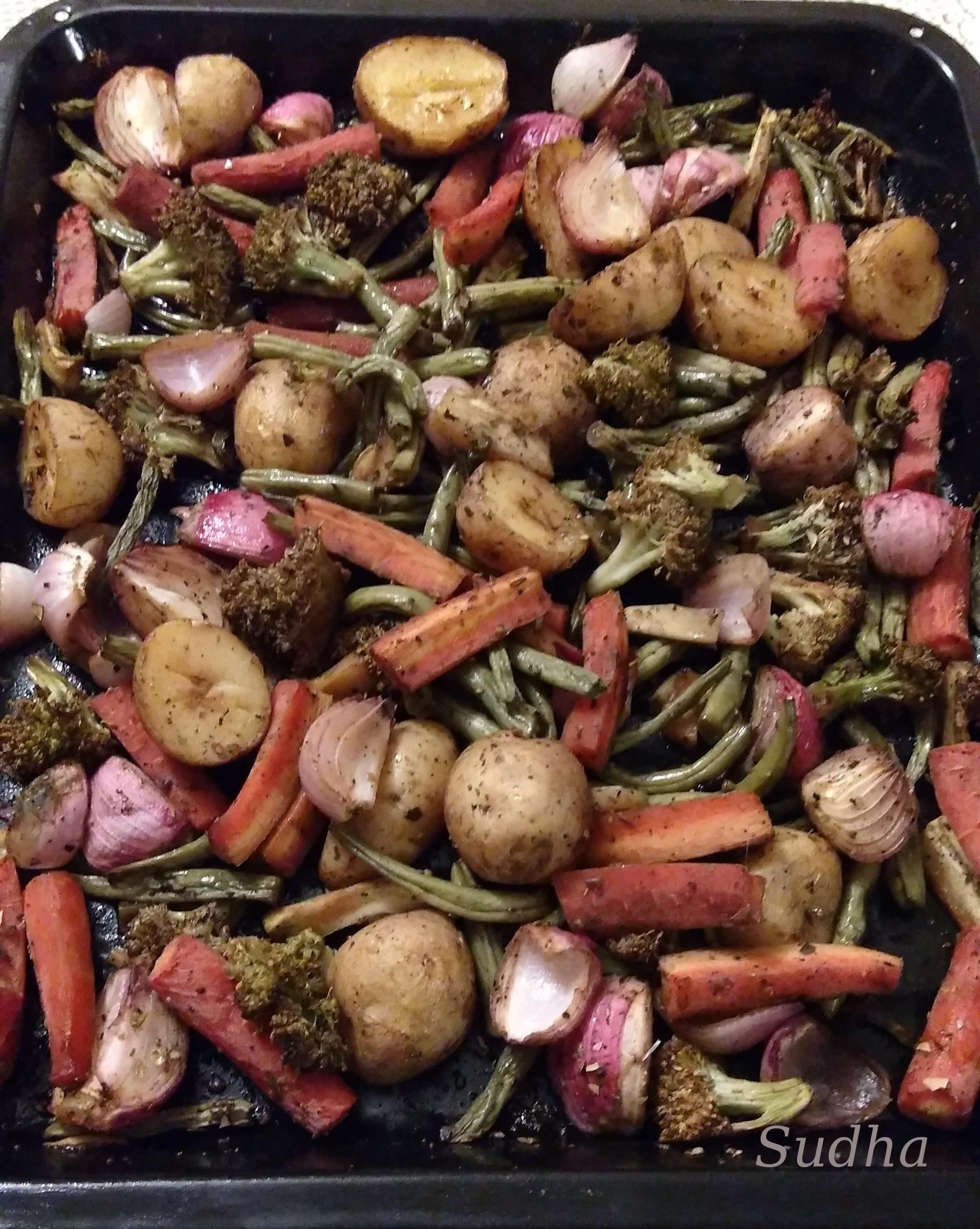 Roasted Veggies-1