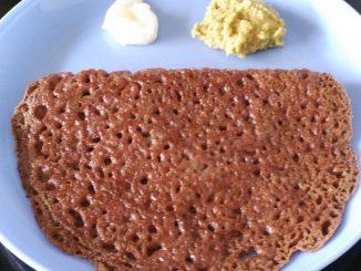 Nachani Dosa / Ragi Dosa / Finger Millet Dosa