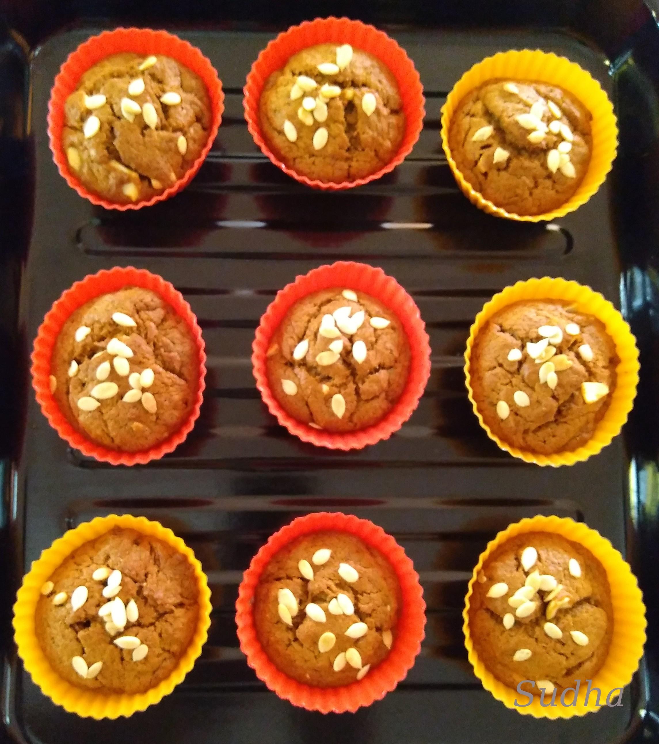 Banana Muffins-5