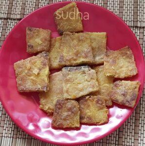 Lal Bhopalyachya Fodi (लाल भोपळ्याच्या फोडी / काप)