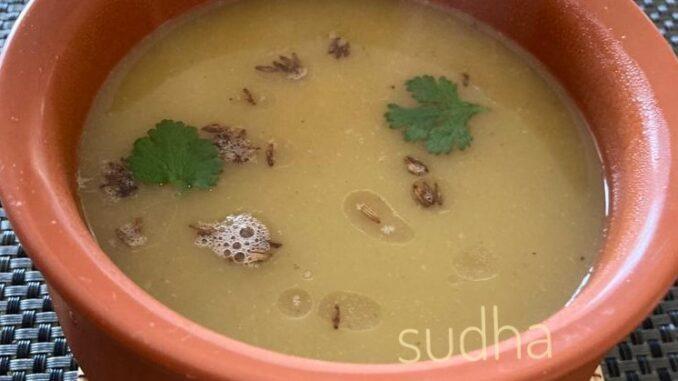 Drumsticks Soup (शेवग्याच्या शेंगांचं सूप)