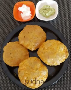 Bhopalyachya Tikhatmithachya Purya (भोपळ्याच्या तिखटमिठाच्या पुऱ्या)